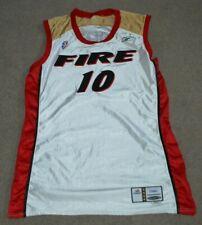 Jackie Stiles Portland Fire 2002 Game Worn Used Womens Basketball Jersey WNBA