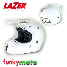Cascos Lazer color principal blanco para conductores