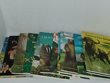National Audubon Society Nature Program 12 Booklets in Cases Unused Stamps