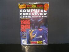 "Computer Game Review and CD-ROM Entertainment ""Sealed with #1 Game Disc"" July 95"