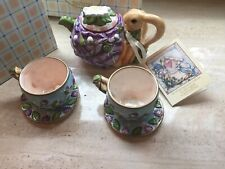 Child Teapot Set- Bunny- The Whispering Garden Collection for Silvestri
