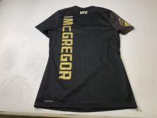 Conor McGregor Reebok UFC Women's Black Fight Kit Walkout Size Medium