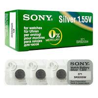 4 x SONY 371 370 batteries Silver oxide 1.5V SR920SW SR69 V371 V370 for watches