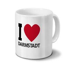 Städtetasse - Design I Love Darmstadt