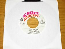 "60's ROCK 45 RPM - THE STATUS QUO - CADET CONCEPT 7006 - ""ICE IN THE SUN"""
