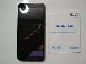 For parts - TracFone Carrier-Locked TCL LX 4G LTE Prepaid Smartphone