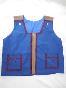 Retired Epcot Mouse Gear Cast Member Costume Male Vest Prop Walt Disney World