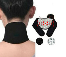 Self Heating Neck Belt Magnetic Therapy for Arthritis Sprains & Circulation