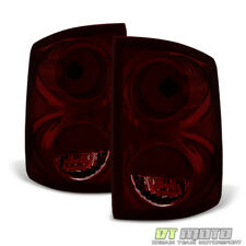 Blk Tinted 2005-2011 Dodge Dakota Tail Lights Lamps Replacement Left+Right 05-11