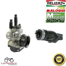 CARBURATORE DELL'ORTO PHBG 21 DS + COLLETTORE MALOSSI YAMAHA AEROX 50 100 2T