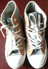 Converse Chuck Taylor All Star Lana Ricco di in Pelle Scamosciata Hi Top Shoe UK Taglia 3 Unisex