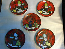 DESSERT PLATES MADE IN ITALY (5)