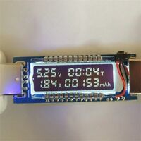 USB Ammeter USB Voltage Meter Current Voltage Detect Battery Capacity Tester