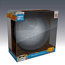 Star Wars 3D FX Deco LED Luce di notte Parete Death Star Morte Nera
