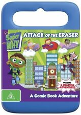 Super Why - Attack Of The Eraser (DVD, 2012) Brand New.
