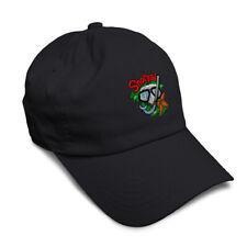 Soft Women Baseball Cap Sport Scuba Diving Snorkel Embroidery Dad Hats for Men
