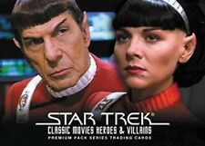 Star Trek Movies Heroes & Villains P2 Promo Card