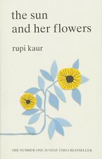 The Sun and her flowers - Paperback Book by Rupi Kaur BRAND NEW FREE SHIPPING