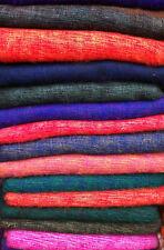 Beutiful Shawl/Wrap/Scarf Hand Made 100 % Soft Yak woolen Suave Chal de Lana .