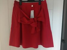 BNWT LACOSTE RED SUMMER SKIRT SIZE 12
