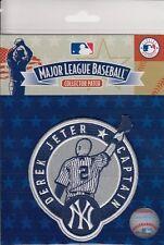 Derek Jeter New York Yankees Captain #2 Retirement MLB Licensed Collector Patch