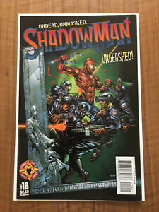 ShadowMan Vol.2 #16, 1st Clayton Crain Cover, Acclaim VHTF Low Print, FN