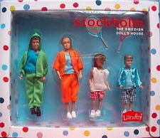 4 Puppen Familie Puppenhaus Lundby Stockholm 2013 Sportkleidung