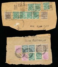Very Early Indian Stamps on Piece and Cover (314)