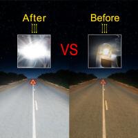 2x Hot Universal H7 LED Car White Headlight Conversion Globes Bulbs Beam Kit New