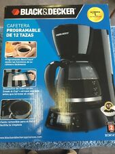 Black & Decker 12 Cup Programmable Coffee Maker NOB