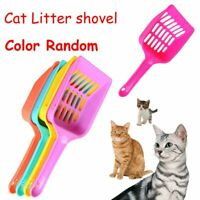 sólido La comida de cuchara Cat Litter pala Gatito arena limpia Plástico hueco