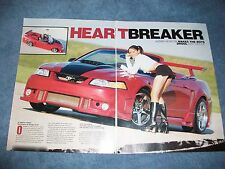 "1999 Ford Mustang GT Convertible Article ""Heart Breaker"""