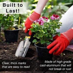 Garden Tool Set Cast Outdoor Hand Tools Kit Trowel Transplanter Weeder Plant