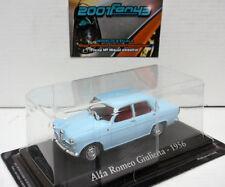 ALFA ROMEO GIULIETTA 1956 AZUL CLARO PALE BLUE 1/43 IXO RBA