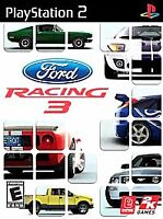 Ford Racing 3 ps2 PlayStation 2 game only 55H kids cars sports