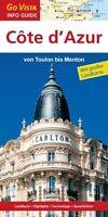 Côte d'Azur Reiseführer von GOVista, mit Karte, 96 Seiten, sehr guter Zustand