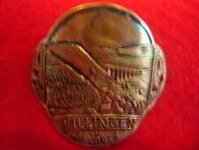 Willingen in Waldeck used badge stocknagel hiking medallion G3531