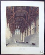 "W. H. Pyne: ""Gothic Hall, Hampton Court"" 1819"