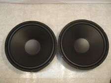 """NEW (2) 15"""" Subwoofer Replacement Speakers.4 ohm.fifteen inch bass sub Woofers"""