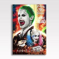 "Suicide squad toile joker harley quinn batman photo poster print 30""x20"" toile"