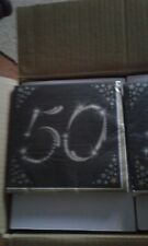 50th biryhday or party napkins