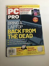 PC Pro Magazine Bringing a Laptop Back from the Deads February 2020 UK Import