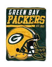 The Northwest NFL Green Bay Packers Micro Raschel Throw Blanket 40 Yard Dash