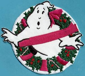 Christmas / XMAS Ghostbusters No Ghost Embroidered Iron on Holiday Patch