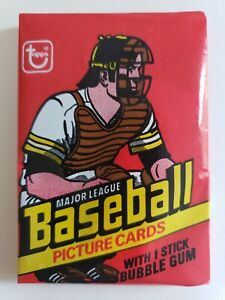1978 topps baseball Wax Pack