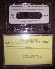 Rage Against The Machine Killing In The Name Epic Sony Promo Cassette Tape RARE