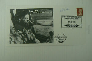 1999 FDC THE DAMBUSTERS SIGNED BY DAM BUSTER DANIEL WALKER