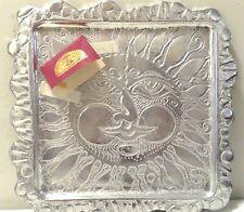 1991 Don Drumm Joyful Sun Face and intricate sun ray patten