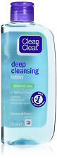 ** CLEAN & CLEAR DEEP CLEANSING LOTION SENSITIVE SKIN 200ML NEW **