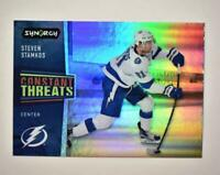 2020-21 UD Synergy Constant Threats #CT-11 Steven Stamkos - Tampa Bay Lightning